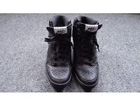 NIKE - Hi-top Wedge heel sneakers UK size 5