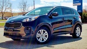 2017 Kia Sportage LX, FWD, ONE OWNER, NO ACCIDENT..