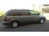 EXCELLENT CHRYSLER GRAND VOYAGER, 7 SEATS, 71K MILES ONLY, FSH, NEW MOT, DVD SYSTEM ON BOARD