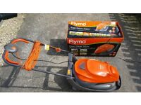 Flymo Easi Guide 300V Lawnmover. Used 3 times. Stored Carefully. New Price £99. B&Q.