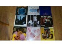 30 x northern soul / modern soul vinyl LP's casino classics / kent / charly