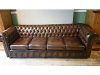 Immaculate 4 seater chesterfield sofa