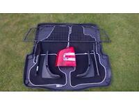 SKODA Octavia II 1Z accessories - dog guard - mats - boot liner - mud flaps - LH rear light cluster
