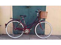 Ladies Bike/Bicycle - Vintage Raleigh Roadstar - 1978 Wonderful Condition/Police Registered