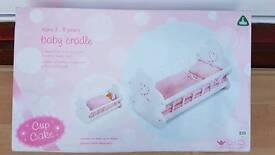 ELC Baby doll crib - Brand New in Box