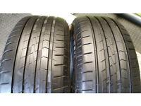 215 55 16 97V 2 x tyres Vredestein Sporttrc 5