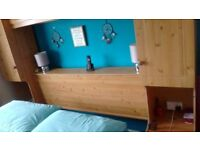 Pine overbed unit