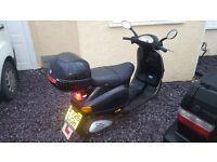 vespa et4 125cc scooter