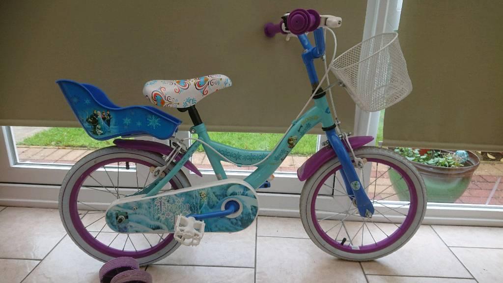 Frozen child's Bike