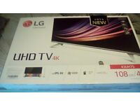 "4K LG 43"" UHD750V TV - April 2016 Model - Brand New, Still Sealed..."