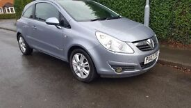 VAUXHALL CORSA IMMACULATE,LOW MILES,FULL SERVICE HISTORY,2 KEYS,DRIVES LIKE NEW, CLEAN INSIDE OUT