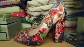 Stunning chunky wedge heel