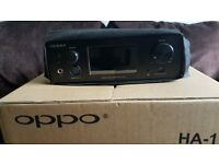 "OPPO HA-1 Headphone Amplifier, DAC & Pre-Amplifier ""Boxed Mint"""