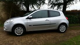 2010 Renault Clio 1.2 i-music. 3dr 62,000 miles. 1 previous owner.