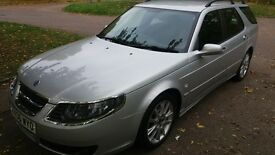 saab 95 vector sport td estate 110k with full history