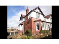 Scarborough 3 Bedroom ground floor maisonette with garage and small garden long term let £625 month