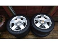 """Audi 16"""" wheels, fit vw and some Seat"""