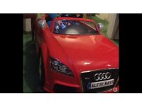 Kids Audi car like new £65