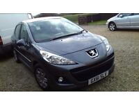Peugot Access 207 1.4 2011 61 reg Hatch back in grey