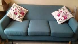Teal sofa (Tubby)