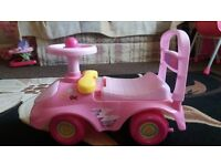 Peppa Pig my first sit and ride car