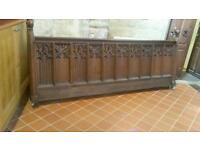 Front church pew