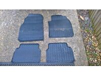saab tailor made rubber mats 9-3