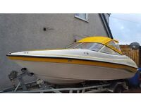 Ebbtide campione 180 stunning us boat quality build and deep hull 65 Hours