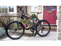 """Men's Claude Butler SR Suntour Mountain Bike 23"""" Frame"""