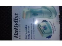 BABYLISS PROFESSIONAL RECHARGEABLE LADY SHAVER