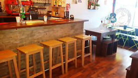 Eye-Catching Spanish tapas/café/bar for sale, available now!