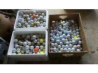Golf Balls 900+ of various makes, weights