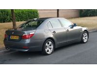 BMW 520D GREY 55 REG LADY OWNED FULL SERVICE HISTORY STARTS AND DRIVES GREAT VERY SMOOTH MAY PART EX