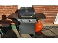 gas bbq twin burner