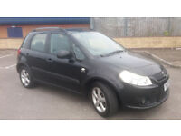 2007(07)SUZUKI SX4 1.9 DDiS 4X4 BLACK,6 SPEED,CLEAN CAR,GREAT VALUE