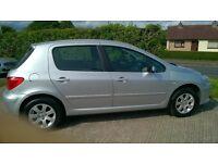 2006 Peugeot 307, 1.6 hdi, Long MOT, Clean Car!!!!!!!