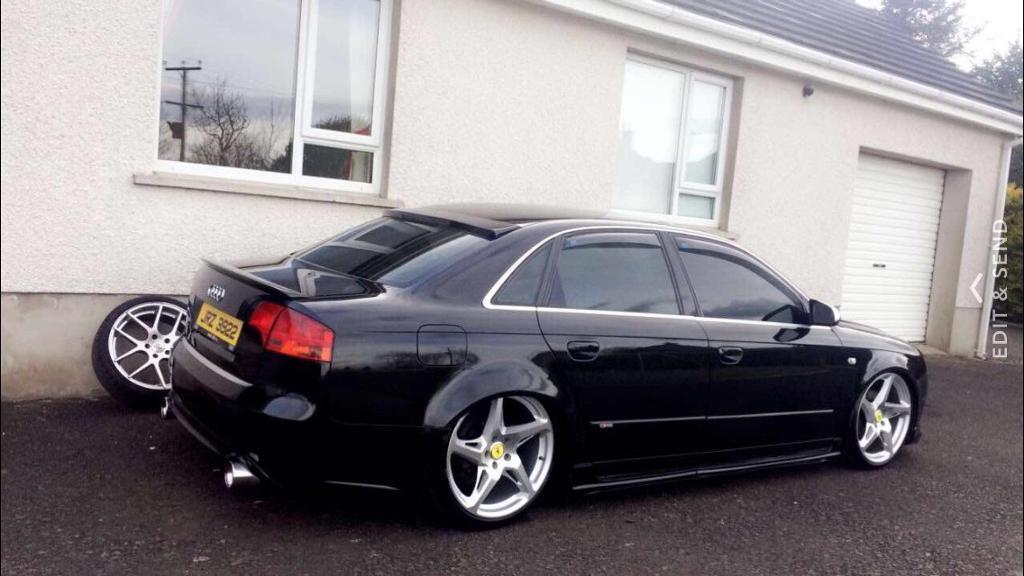 Audi a4 b7 sline kitted in ballymena county antrim for Mueble 2 din audi a4 b7