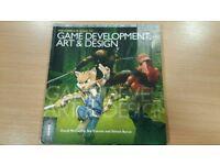 Game development art and design book