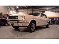 1965 Ford Mustang White - MOT March 2018