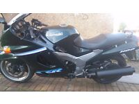 1997 Kawasaki zzr1100