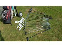 Golf Clubs & Bag. Gary Player Gran Prix. Ultralite Graphite