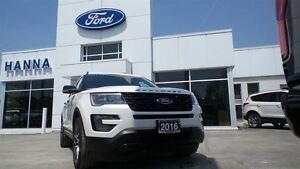 2016 Ford Explorer *NEW* SPORT 4WD *400A* 3.5L V6 ECOBOOST