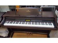 Yamaha Clavinova CLP-611 Digital Piano comes with NEW YAMAHA piano stool