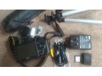 Nikon D3200 24.2MP Digital SLR Camera - Black (w/ AF-S DX VR 18-55mm Lens)