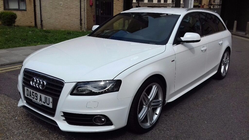 59 plate audi a4 avant s line diesel 2 0 tdi manual estate. Black Bedroom Furniture Sets. Home Design Ideas