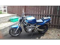 Yamaha TRX 850 good condition clean for the year very rare bike good runner