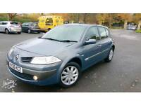 **2006/56 RENAULT MEGANE 1.6 DYN 13 MONTHS MOT NEW CLUTCH S/HISTORY S/KEYS GOOD RUNNER**