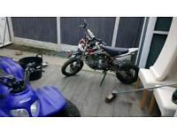Pit bike demonx 160