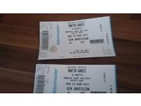 2 Martin Garrix tickets for sale. .. Ormeau Pk.. 19th june