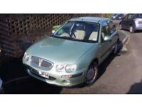 2000 Rover 25 2lt diesel Y plate